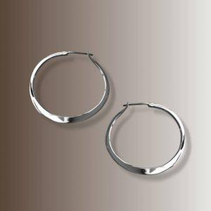 RABAT HOOPS 1  1/16″ #105 silver