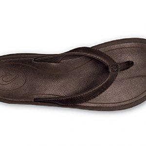 Olukai Kulapa French Roast Brown Leather